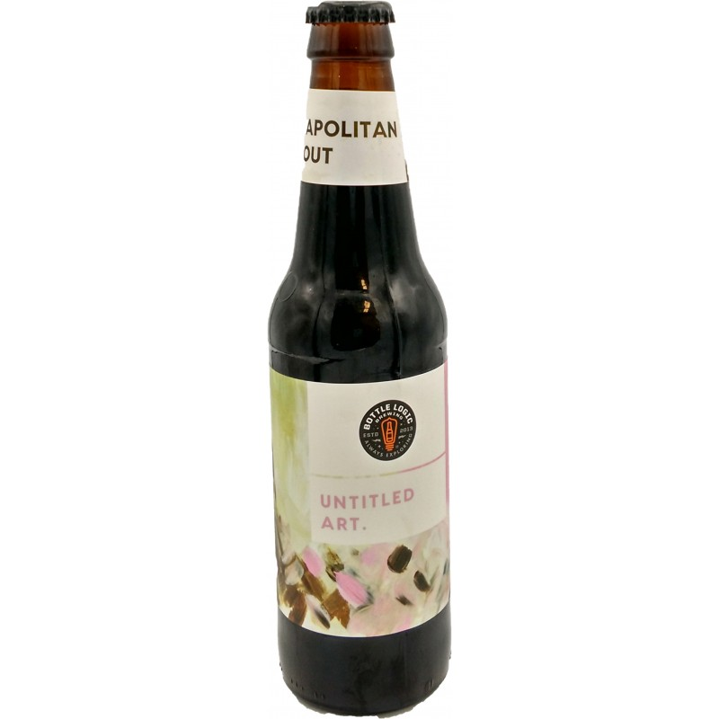 Botella Untitled Art Neapolitan Stout