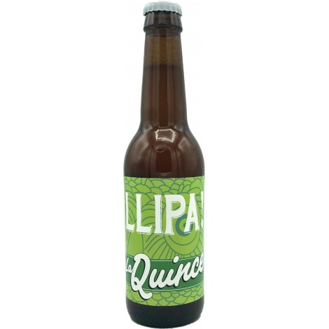 Botellín La Quince Llipa!