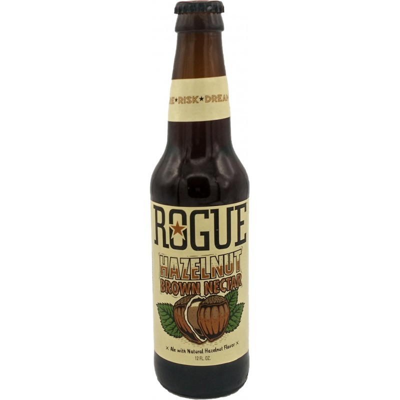 Botellín Rogue Hazelnut Brown Nectar