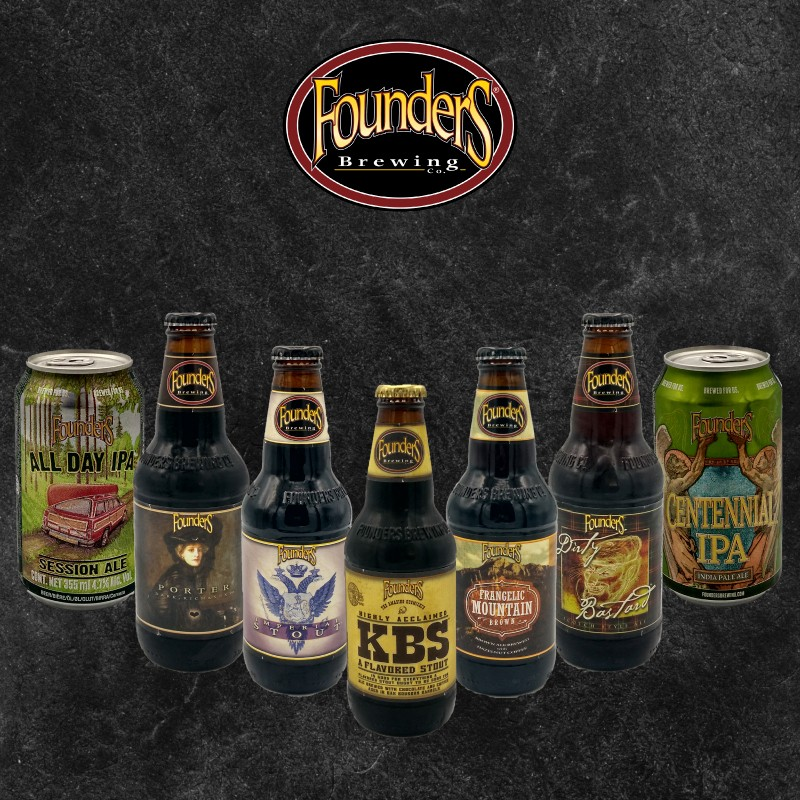 Pack Cervezas Founders
