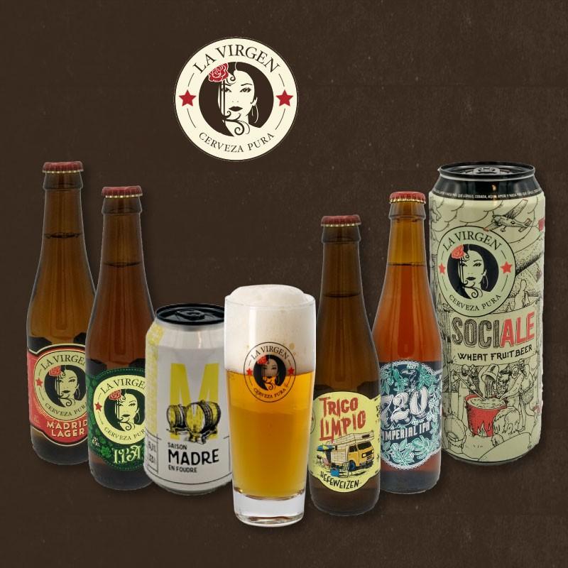 Pack Cervezas La Virgen