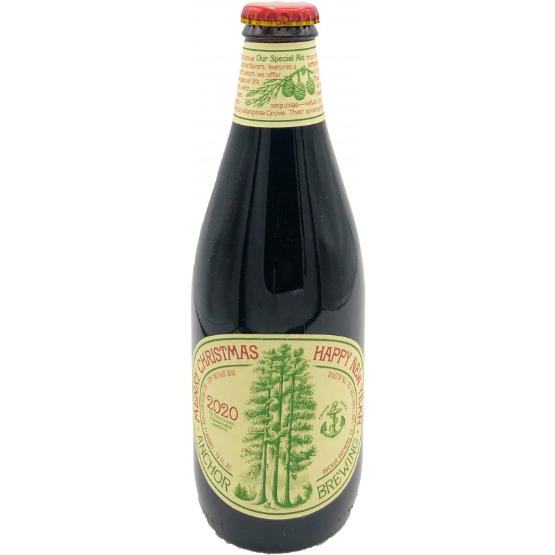 Botellín Anchor Christmas Ale