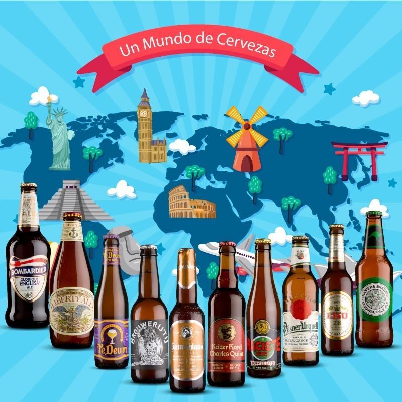 Pack Cervezas del Mundo