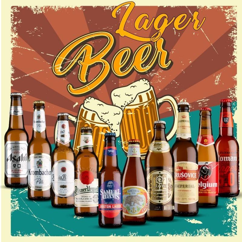 Pack Las Mejores Cervezas Lager
