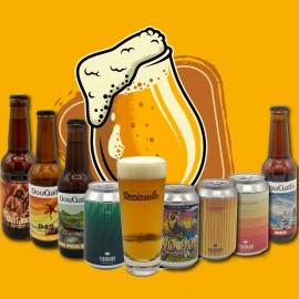 Pack cervezas artesanas españolas
