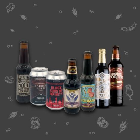 Pack cerveza negra