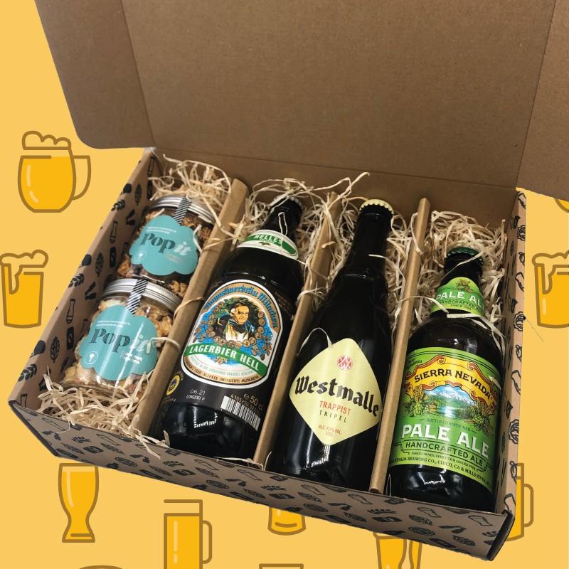Regalo Cerveza Palomitas Día del Padre