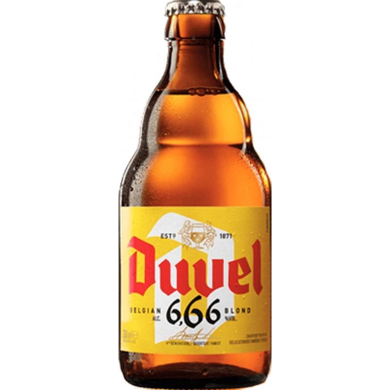 Botellín Duvel 666