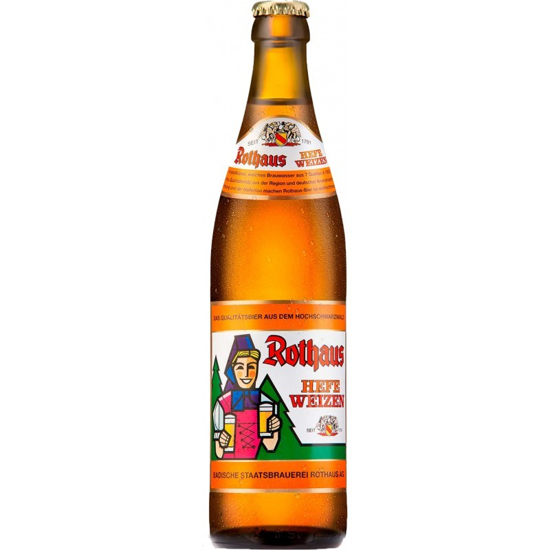 Botellín Rothaus Hefe Hell