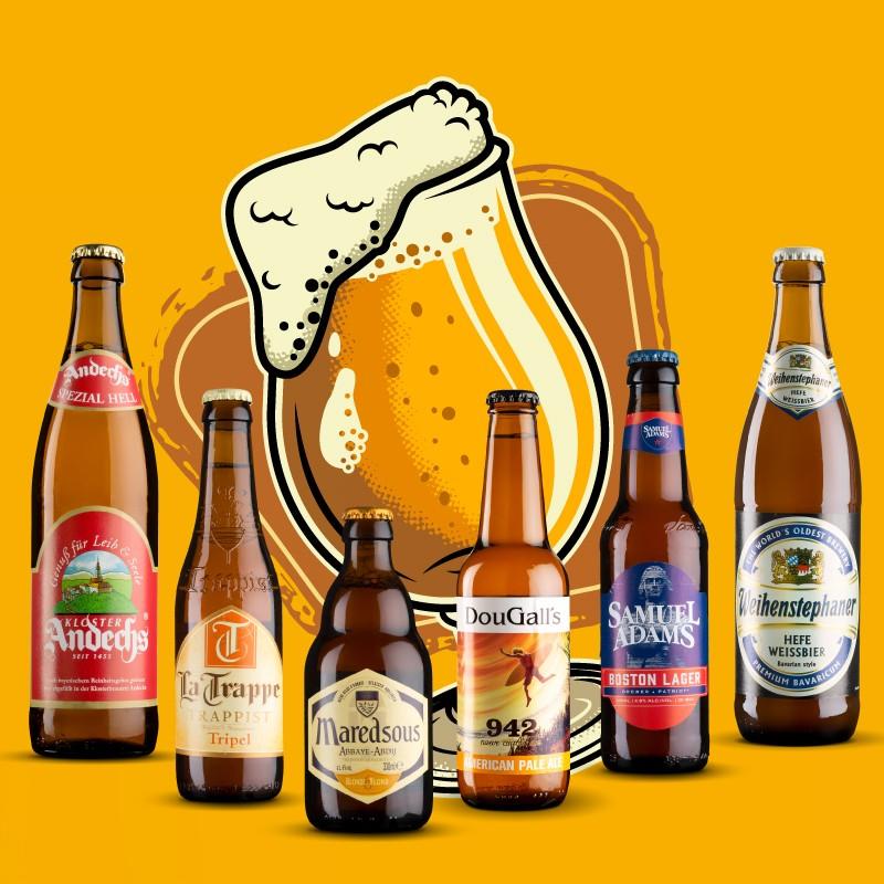 Pack Cervezas Rubias Artesanas