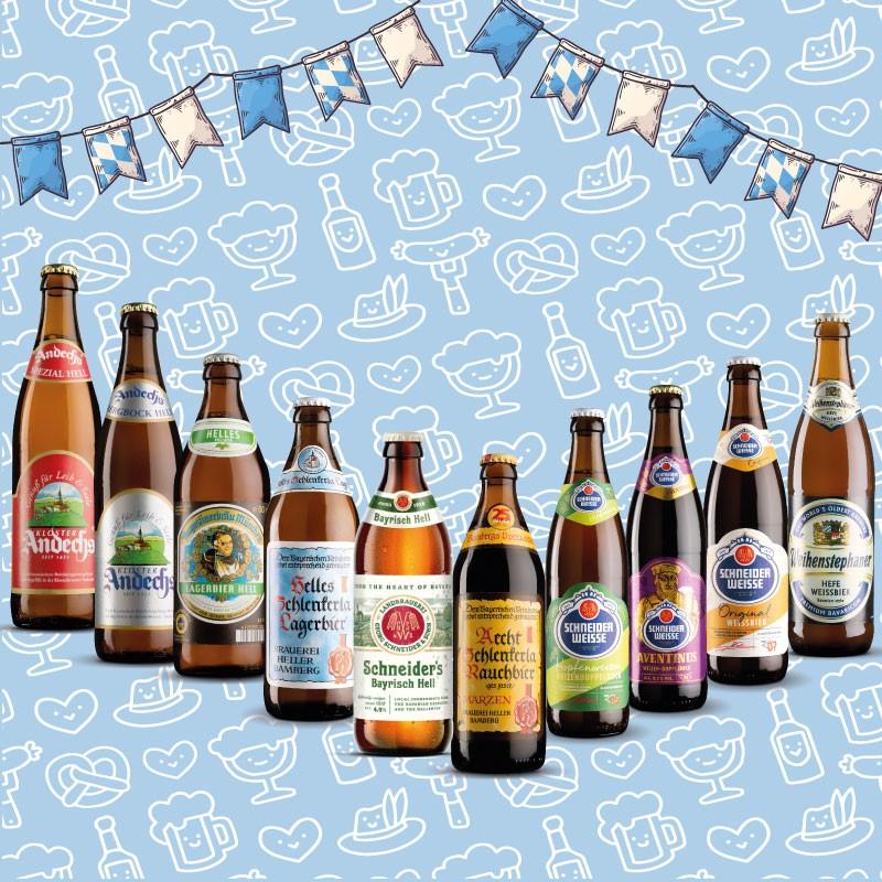 Pack Cervezas Bávaras