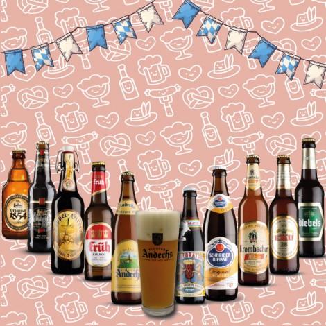 Pack Las Mejores Cervezas Alemanas