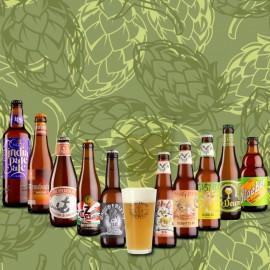 Pack Las Mejores Cervezas IPA con vaso