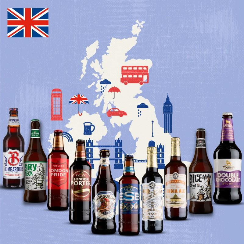 Pack Cervezas Inglesas