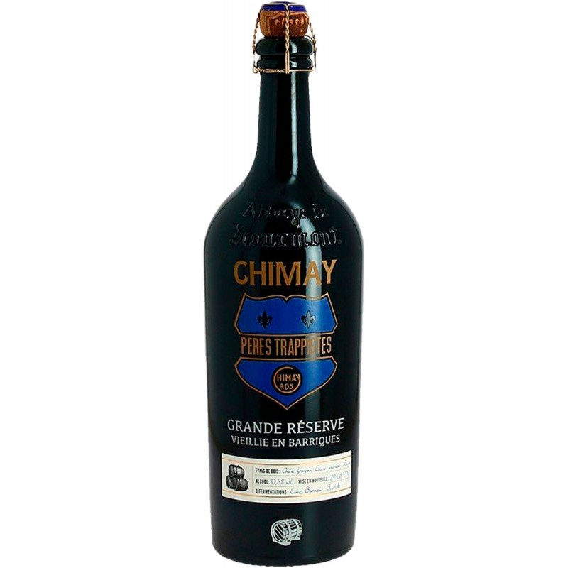 Botella 75 cl. Chimay Azul Barrica 75cl
