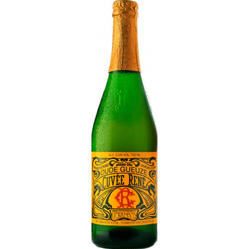 Botellín Lindemans Cuvée Rene Oude Gueuze