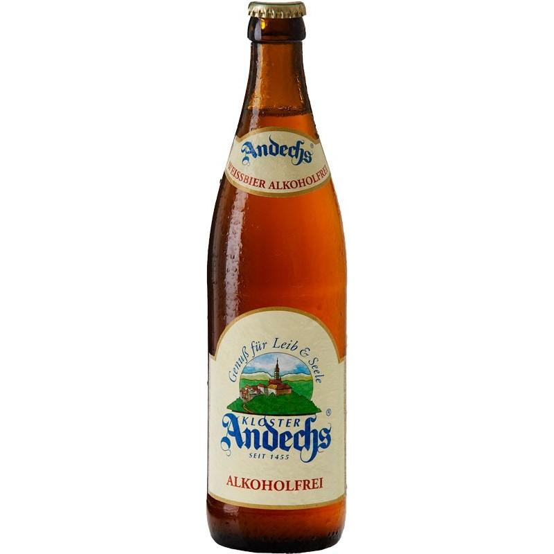 Botellín Andechs Weissbier Sin Alcohol
