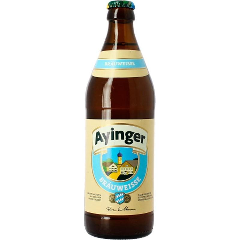Botellín Ayinger Bräuweisse