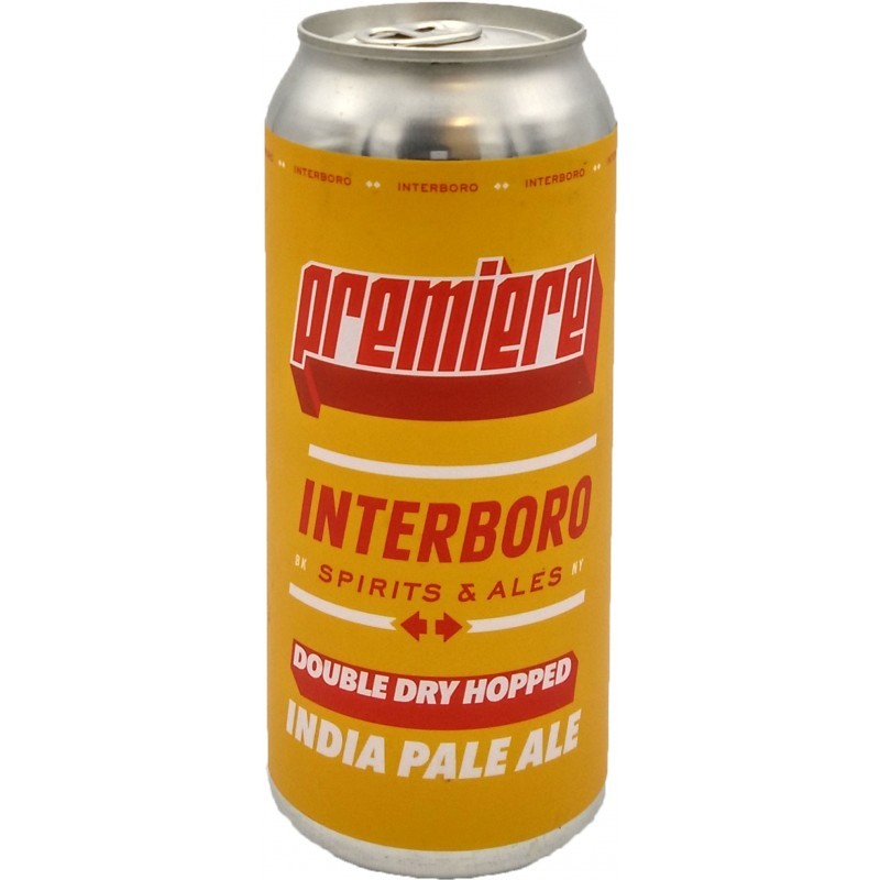 Interboro Premiere IPA Double Dry Hopped