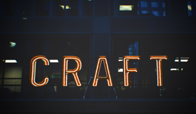 craft beer neon
