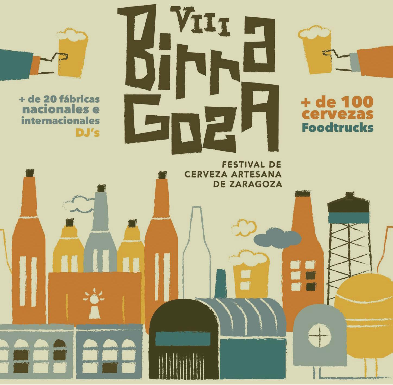 Birragoza festival de cerveza en Zaragoza