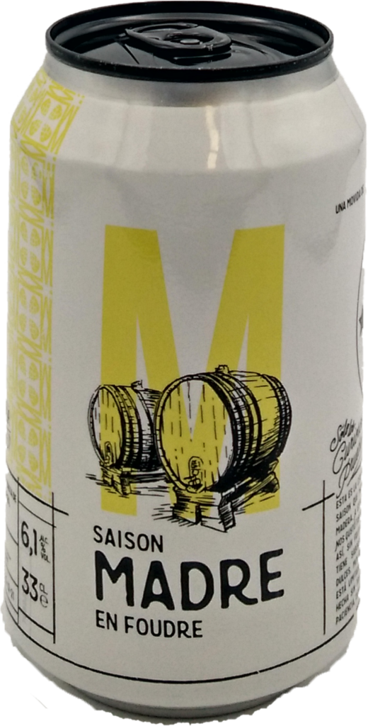 cerveza saison La Virgen Saison Madre