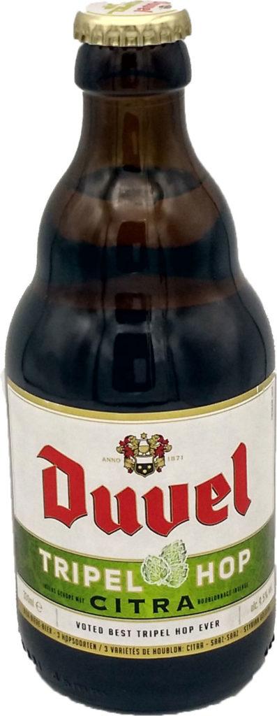 Cerveza IPA Belga Duvel Tripel Hop Citra
