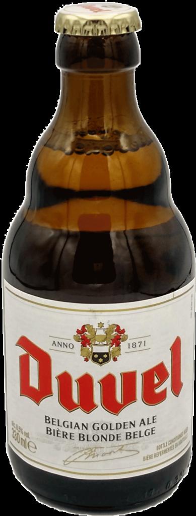 Cerveza belga strong golden ale Duvel